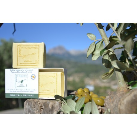 Pure olive natural soap