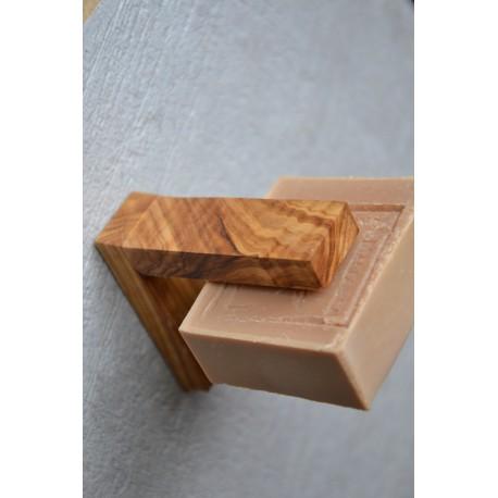 Porte-savon en bois d'olivier de Sóller