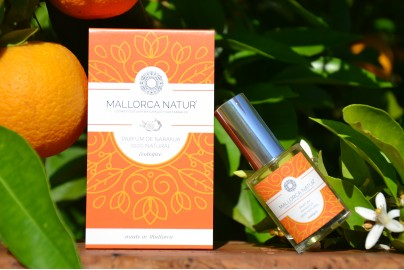 Organic orange perfume of Mallorca