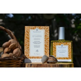 Organic almond body oil with pure sweet virgin almond