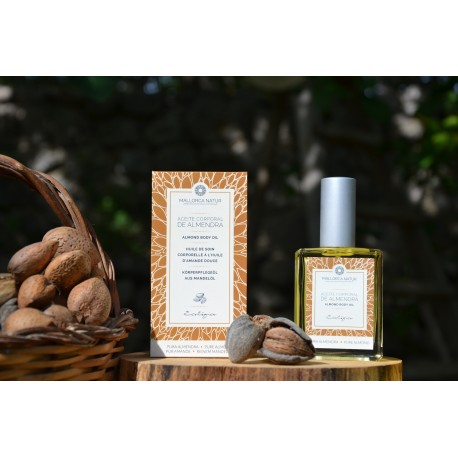Organic virgin sweet almond oil of Mallorca 50 ml