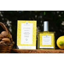 Huile de soin corporelle bio à l'amande et citron