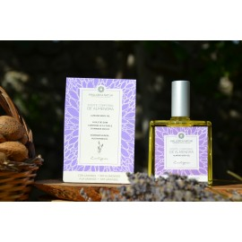 Organic body oil of almond with lavender