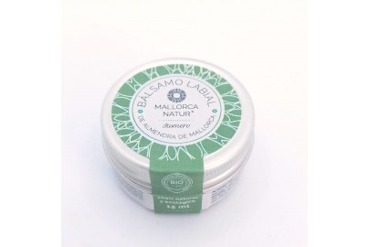 Organic mallorcan almond and rosemary lip balm made in Sóller