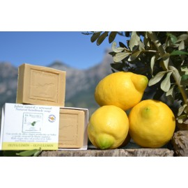 Olive and lemon natural soap