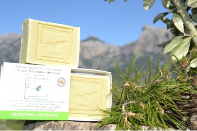 Olive and pine natural soap